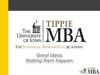 Great ideas. Making them happen.