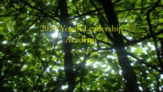 2013 Youth Leadership Academy