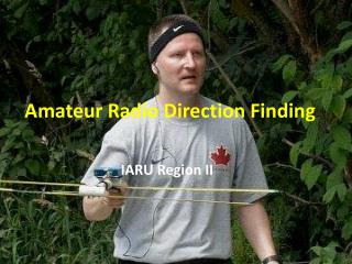 Amateur Radio Direction Finding