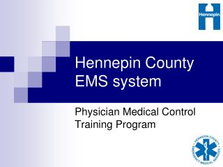 Hennepin County EMS system