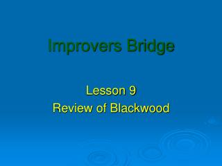 Improvers Bridge