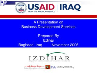 A Presentation on Business Development Services Prepared By Izdihar