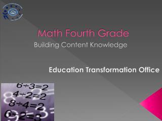 Math Fourth Grade