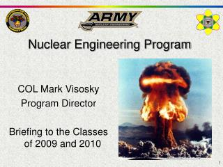 Nuclear Engineering Program