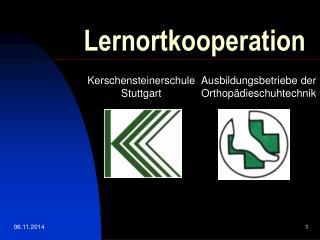 Lernortkooperation
