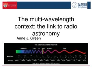 The multi-wavelength context: the link to radio astronomy