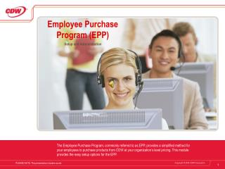 Employee Purchase Program (EPP)