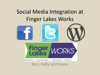 Social Media Integration at Finger Lakes Works