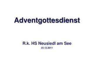 Adventgottesdienst