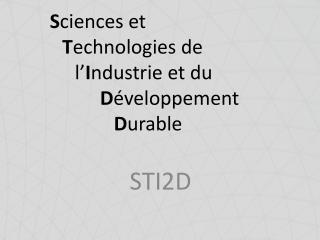 STI2D