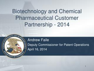 Biotechnology and Chemical Pharmaceutical Customer Partnership - 2014