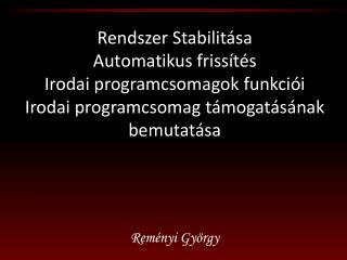 Reményi György