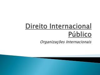 Direito Internacional P�blico