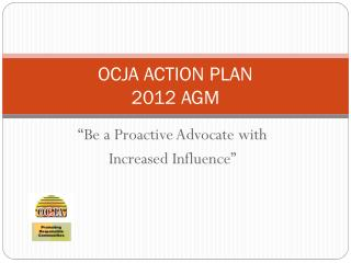 OCJA ACTION PLAN 2012 AGM