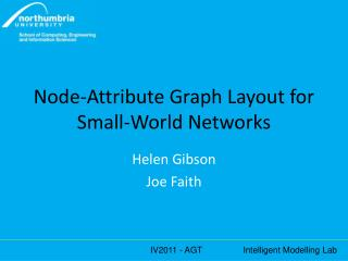 Node-Attribute Graph Layout for Small-World Networks