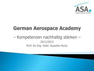 German Aerospace  Academy