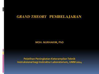 Grand  Theory    Pembelajaran
