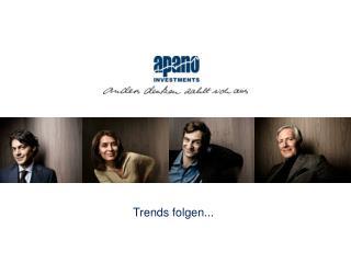 Trends folgen...