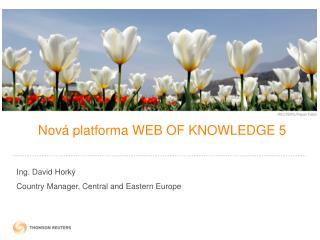 N ová platforma WEB OF KNOWLEDGE 5