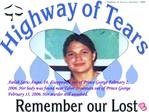 Aielah Saric-Auger, 14, disappeared out of Prince George February 2, 2006. Her body was found near Tabor Mountain out of