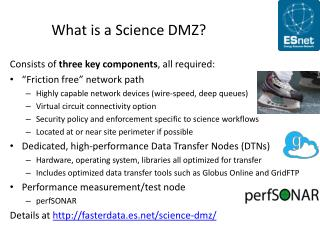 What is a Science DMZ?
