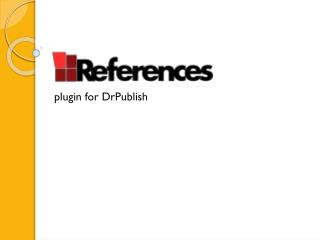 plugin for DrPublish
