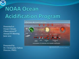 NOAA Ocean  Acidification Program