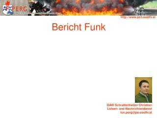 Bericht Funk