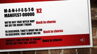 Back to chorus