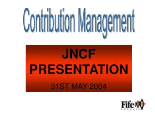 Contribution Management