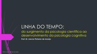LINHA DO TEMPO: do surgimento da psicologia científica ao desenvolvimento da psicologia cognitiva