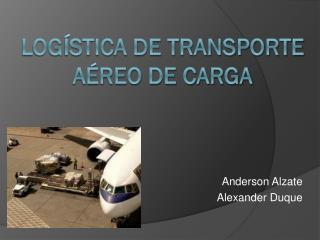 Logística de transporte aéreo de carga
