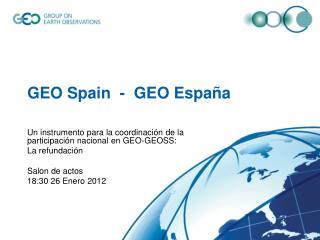 GEO  Spain   -  GEO España