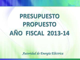 Autoridad de Energía Eléctrica