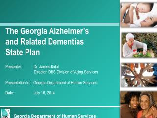 The Georgia Alzheimer's and Related Dementias State Plan