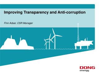 Improving Transparency and Anti-corruption