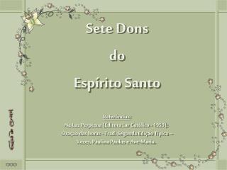 Sete Dons do Espírito Santo