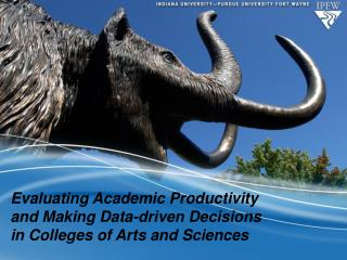 Evaluating Academic Productivity and Making Data-driven Decisions in Colleges of Arts and Sciences