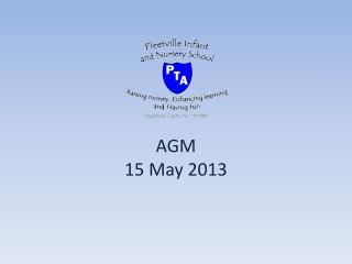 AGM  15 May 2013