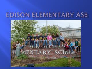 Edison Elementary ASB