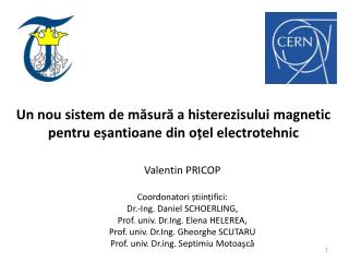 Un nou sistem de  măsură a histerezisului magnetic pentru eșantioane din oțel electrotehnic