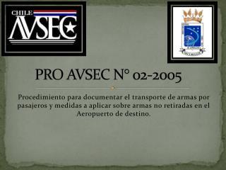 PRO AVSEC N� 02-2005
