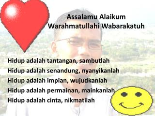 Assalamu Alaikum Warahmatullahi Wabarakatuh