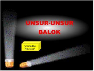 UNSUR-UNSUR  BALOK