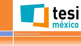 Manejo de Cuotas en CATI