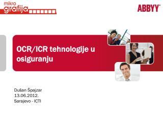 OCR/ICR tehnologije u osiguranju