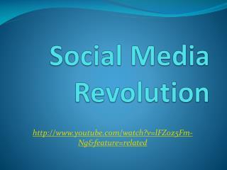 Social Media Revolution