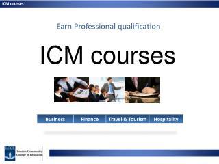 ICM courses