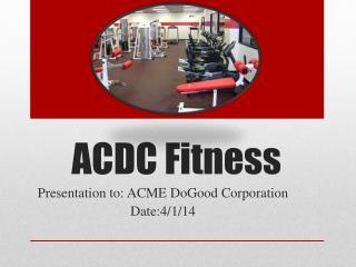 ACDC Fitness