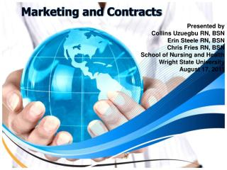 Marketing and Contracts